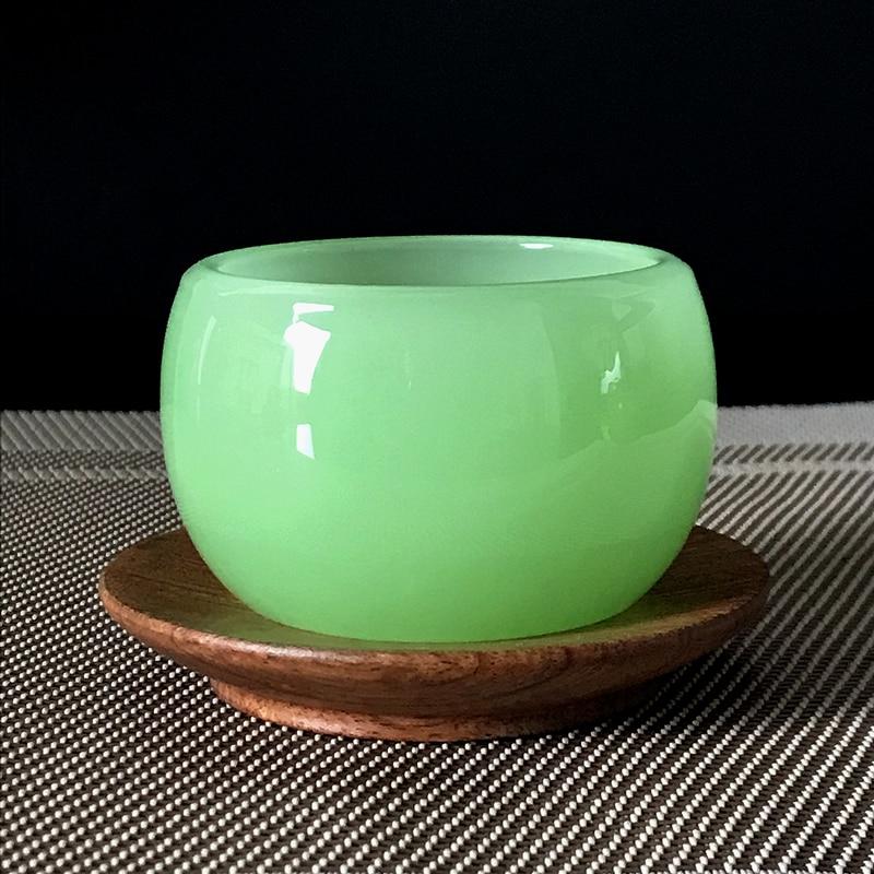 الشاي النمط الصيني الرجعية أنيقة رومانسية فاخرة أكواب الإبداع لوازم المطبخ تازا Vidrio برواري اكسسوارات DI50CB