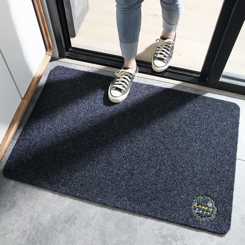 Entrance Door Floor Mat Japanese-style Door Mat Rectangle Non-Slip Foot Pad Home Welcome Carpet For Hallway Bath Kitchen Doormat