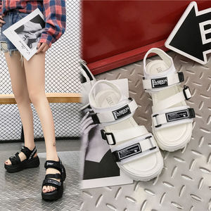 35-40 size Summer women shoes Height incresing shoes women sandals platform ladies shoes colleges students sandals ins gladiator