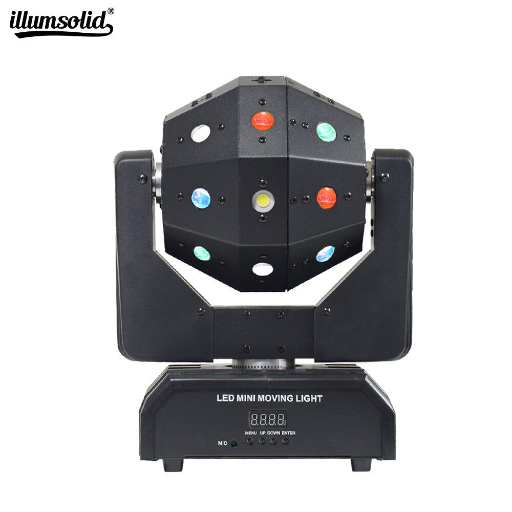 المهنية DJ ديسكو كرات إضاءة LED شعاع الليزر ستروب 3in1 تتحرك رئيس كرة القدم ضوء DMX ملهى ليلي عرض الحفلات المرحلة الإضاءة