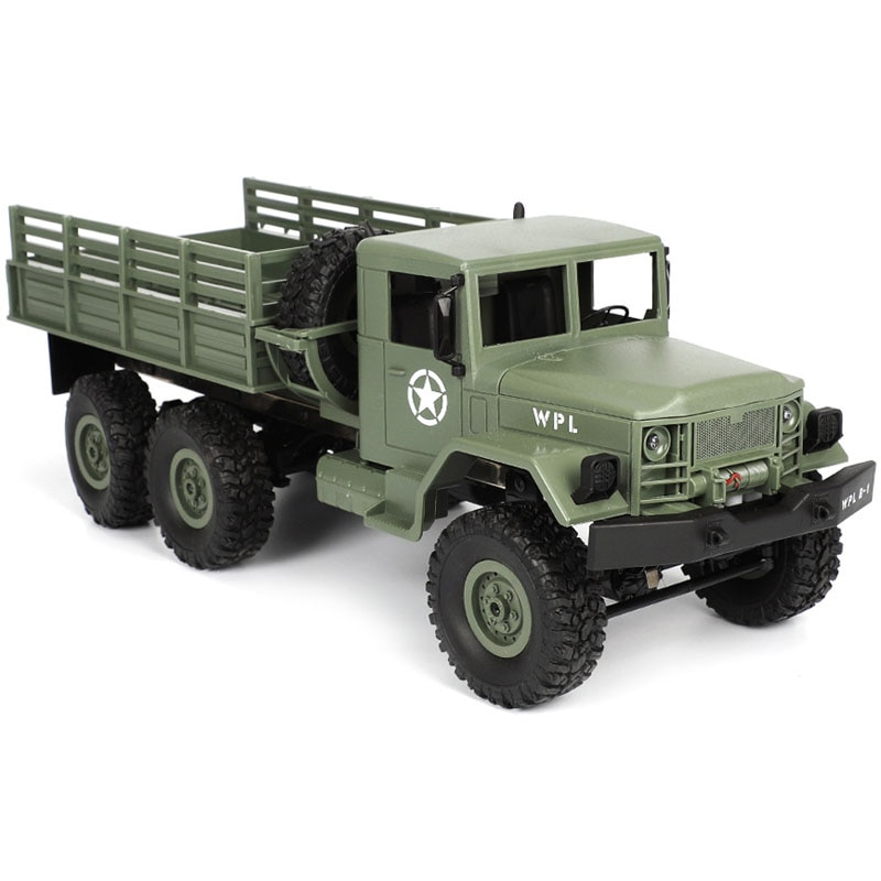 RC Truck Remote Control Vehicle Military Transporter Off-Road Monster 6WD Tactical 2.4G Rock Crawler Electronic Toys Kids Gift enlarge