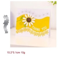 flowers thank you lace metal cutting dies 2021 new diy molds scrapbooking paper making die cuts crafts