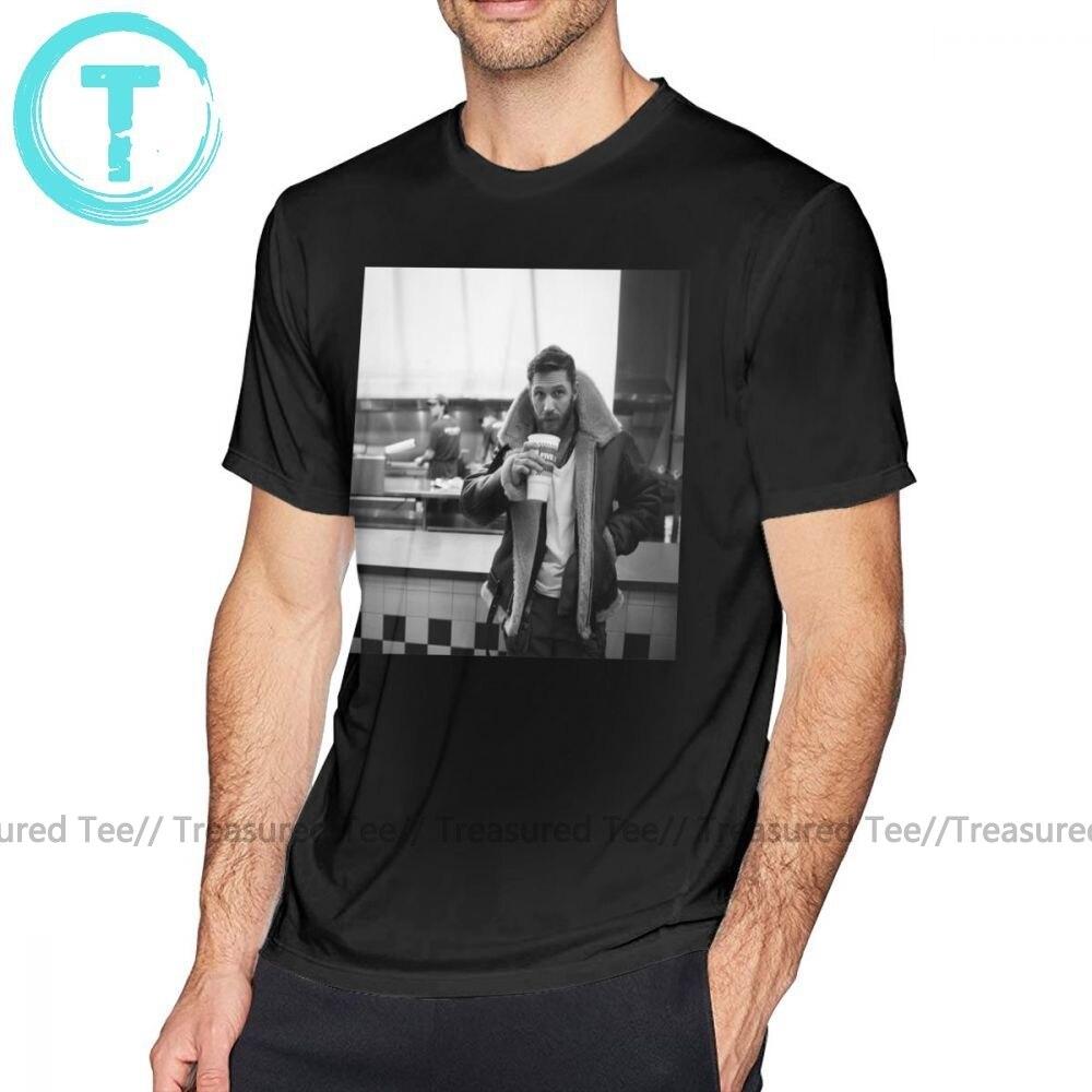 Camiseta Tom Hardy, camiseta Tom Hardy, camiseta de manga corta impresionante, Camiseta básica para hombre de gran tamaño, 100 Camiseta estampada de algodón