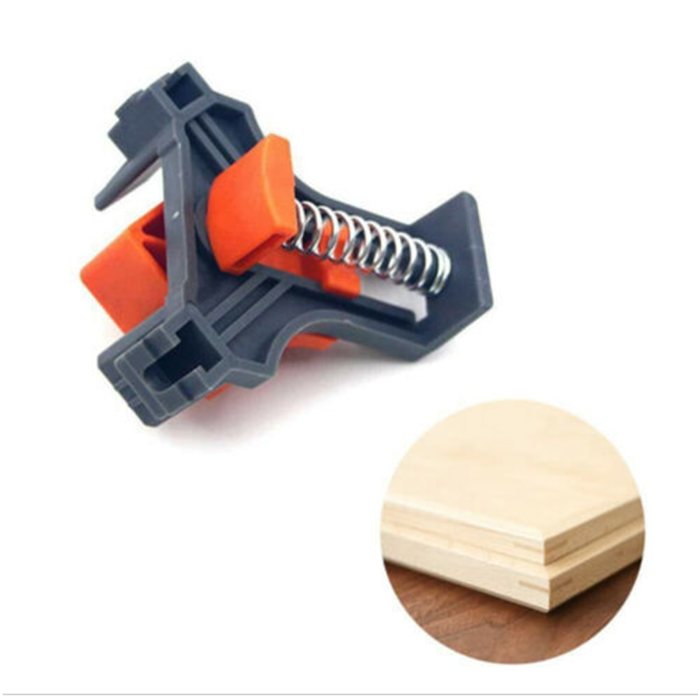 1/4pcs set Corner MATE 90 Degree Right Angle Corner Clip Clamp Woodworking Hand Tool  90 Degree Right Angle Clamp Fixing Clips