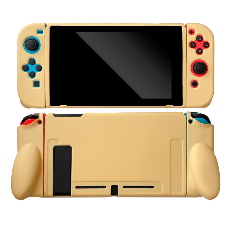 For Nintend Switch Case Cute Cartoon Full Cover Shell JoyCon Controller Soft TPU Cover Box For NS Nintendo Switch Accessories enlarge