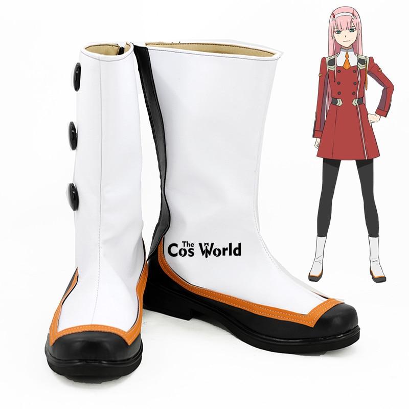 Botas de Sapatos Querido Franxx Zero Dois Código: 002 Anime Personalizar Planos Cosplay no