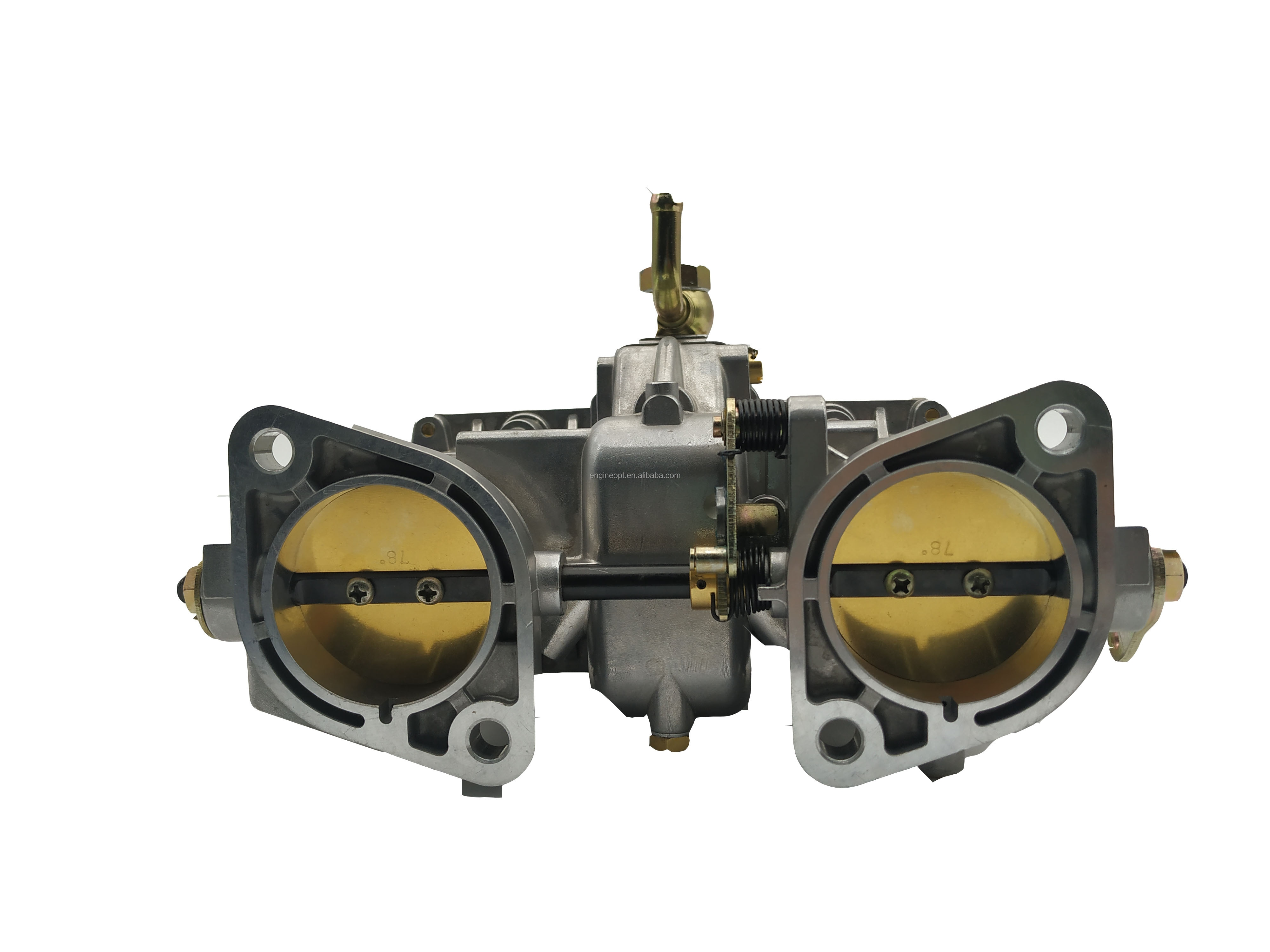 OPT STOCK New 48IDA CARBURETOR WITH TWO GASKETS FOR FIAT VOLKSWAGEN WEBER 19030.018 19030.015  - buy with discount