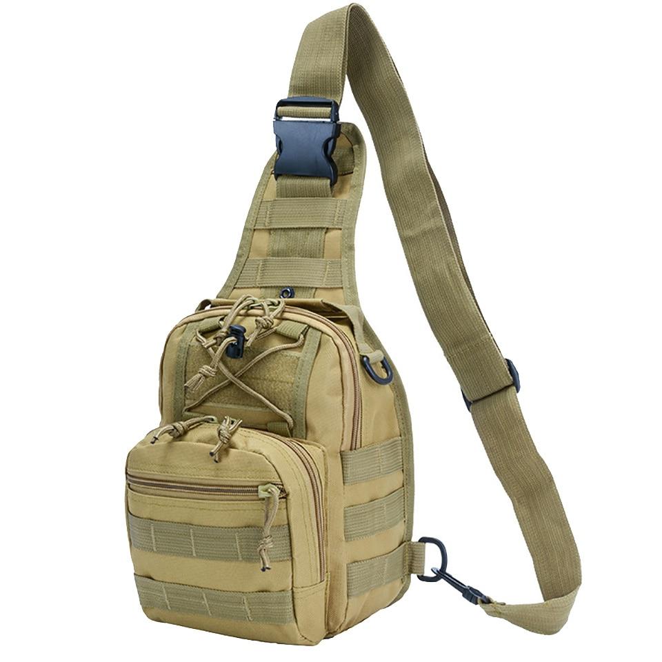 Mochila militar para deportes al aire libre, mochila de Trekking, bolso de hombro, senderismo, Camping, caza, pesca, mochila de 10l