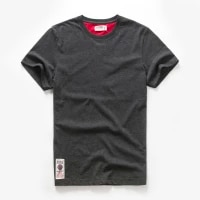 mens t shirt cotton solid color t shirt men causal o neck basic tshirt male high quality classical tops
