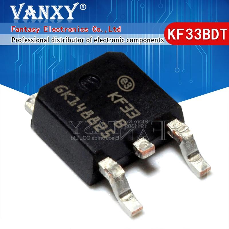 5 pièces KF33BDT KF33 TO252 KF33BDT-TR à-252