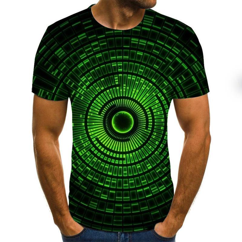Camisetas De Hombre 2020 Manga Corta Con Impresin Divertida Camisetas Verano Hip...