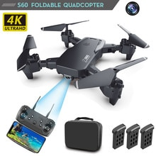 Мини Дрон 4k HD широкоугольная камера 1080P WiFi fpv Дрон Квадрокоптер передача в реальном времени вертолет игрушки