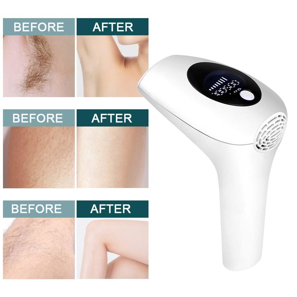 900000 Flash permanente IPL depiladora láser profesional máquina de depilación foto eléctrica mujeres sin dolor enhebrador de cabello