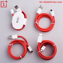 Oneplus 1+ 7 Warp Charger 6A Cable 1/1.5/2/3M USB Dash Quick Charge Data Cable For Oneplus 3 3T 5 5T