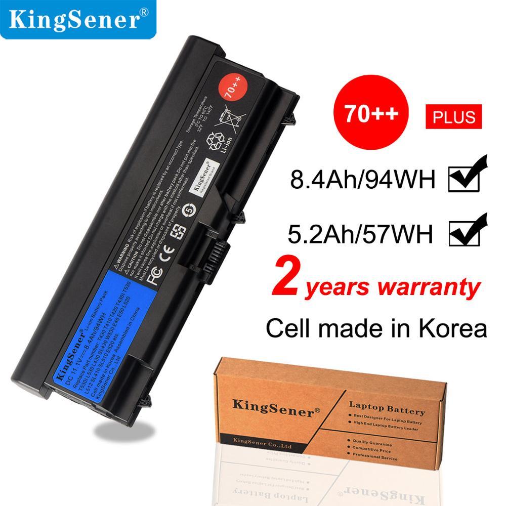 10 8v 57wh new original t430 laptop battery for lenovo thinkpad t530 w530 t430i l430 530 sl430 t410 t420 45n1005 45n1004 KingSener 11.1V 8400mAh Laptop Battery For Lenovo ThinkPad T430 T430I L430 SL430 SL530 T530 T530I L530 W530 45N1011 45N1010