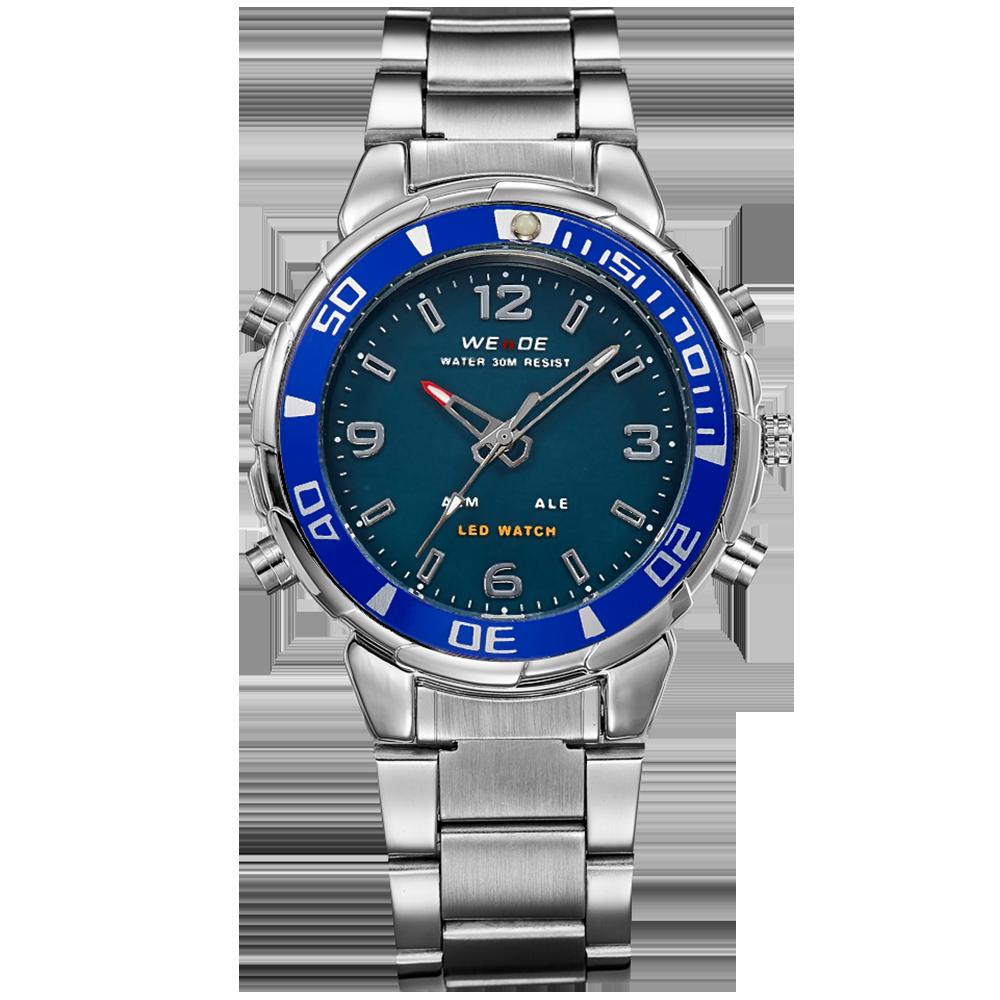 WEIDE Watch Men Top Luxury Brand Business Military  Relogio Waterproof Analog Digita WH843 Model Number