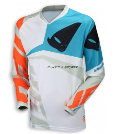 Camiseta de motocross mx para ciclismo de montaña, novedad, verano, dh, manga...