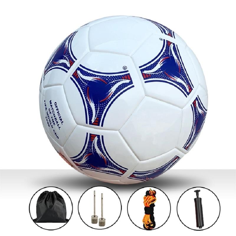 Professional Size 5 Soccer Ball Football League Balls futbol bola Team Sports Training Balls Goal Team Match Football