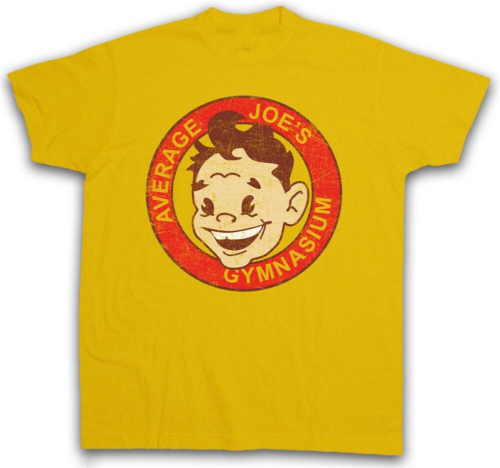 Promedio Joe gimnasio me camiseta gimnasio Dodgeball símbolo de signo de equipo de la calle camiseta