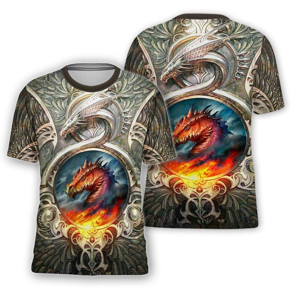 Camisetas con estampado 3D para hombre, ropa de calle de verano, de...