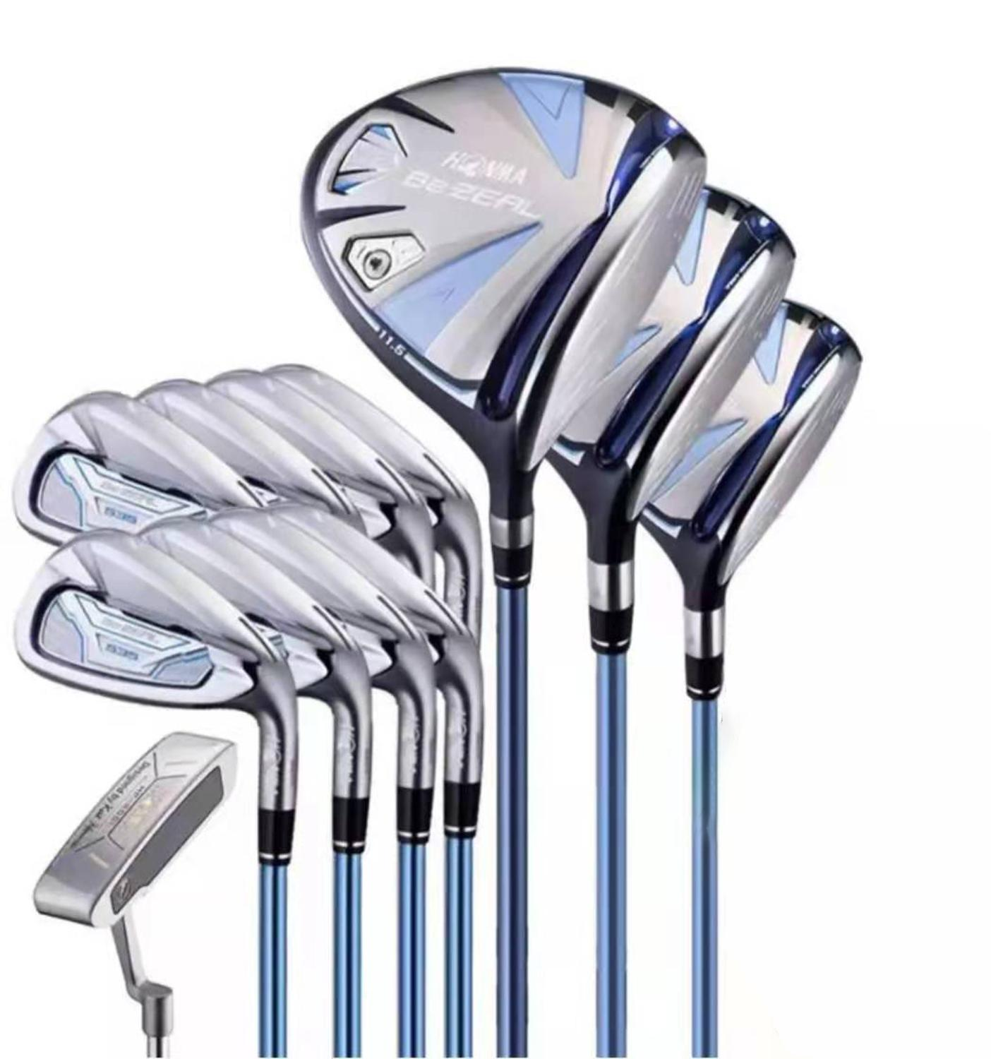 HONMA Golf Club Set HONMA BEZEAL 535 Ladies Golf Club Full Set HONMA BEZEAL 535 Full Set Head Cover Without Ball Bag