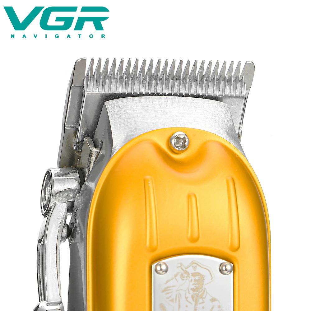 V-117 electric hair clipper metal electric hair clipper oil head clipper professional high-power hair clipper enlarge