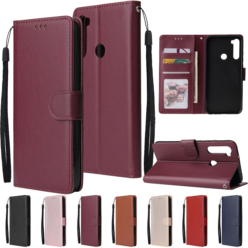 Flip Wallet Case for Xiaomi Redmi Note 9 8 7 6 5 4 Pro 9A 8A 7A 6A 5A 4A 5X 4X 5 Plus Pocophone F1 L