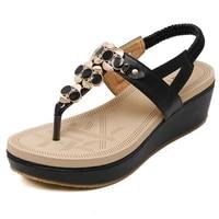 women sandals summer new female shoes woman summer wedge comfortable sandals ladies slip on flat sandals women sandalias