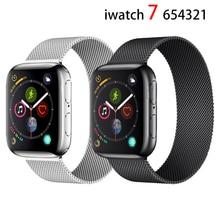 แม่เหล็กสำหรับ Apple นาฬิกา44มม.40มม.IWatch Band 38มม.42มม.Correa สร้อยข้อมือ Apple Watch 3 4 5 6 Se