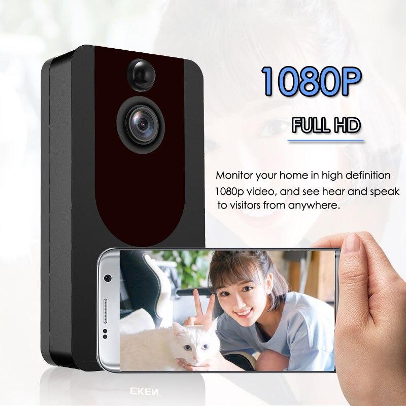 V7 Smart Doorbell Camera IP 1080P Phone Door Bell For Apartments IR Alarm Wireless Security Intercom WIFI Video Doorbell enlarge