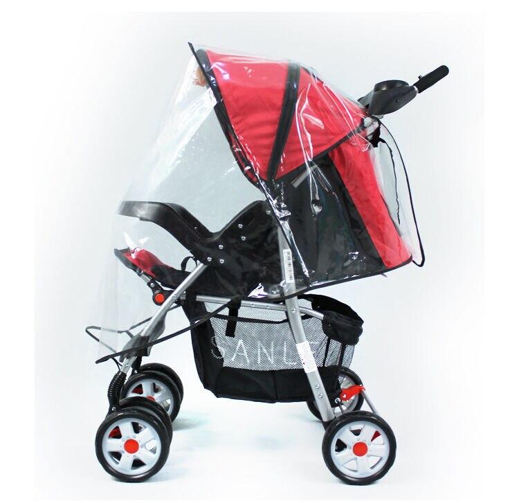 Фото - Водонепроницаемая детская коляска, универсальный плащ-дождевик, прозрачный дождевик, коляска для коляски, коляска-коляска коляска