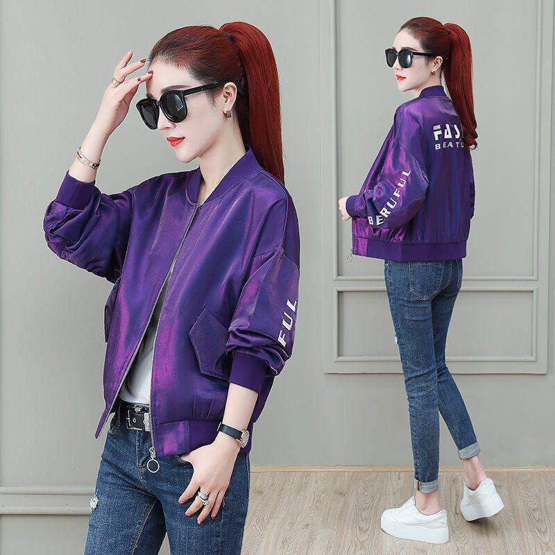 Coat womens tide ins spring and autumn Joker new 2021 short jacket small Korean loose