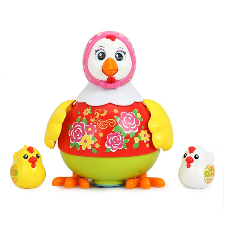 Baby Children Toys Electric Pet Toys Funny Chicken Toys Animal Hens Lay Eggs Singing Dancing Toy For Kids Birthday Gift enlarge
