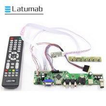 "Latumab Board Kit für N156B6-L0A / N156B6-L0B / N156B6-L0D LCD LED 15.6 ""Screen Controller Driver Board 1366 × 768 TV + HDMI + VGA + USB"