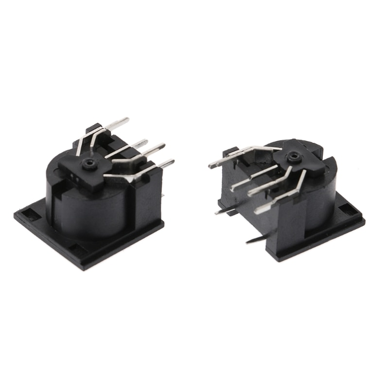 10 Pcs/Set PCB Panel Mount Female Connector DIN5 DIN 5-Pin Jack DS-5-01 MIDI