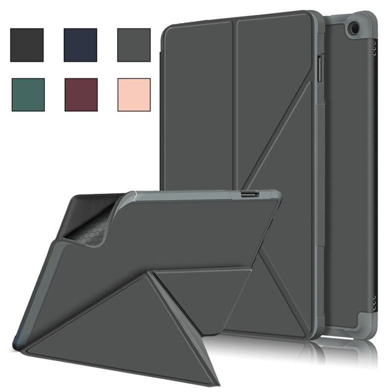 Funda de cuero con tapa magnética para iPad Pro 11, 11 pulgadas,...