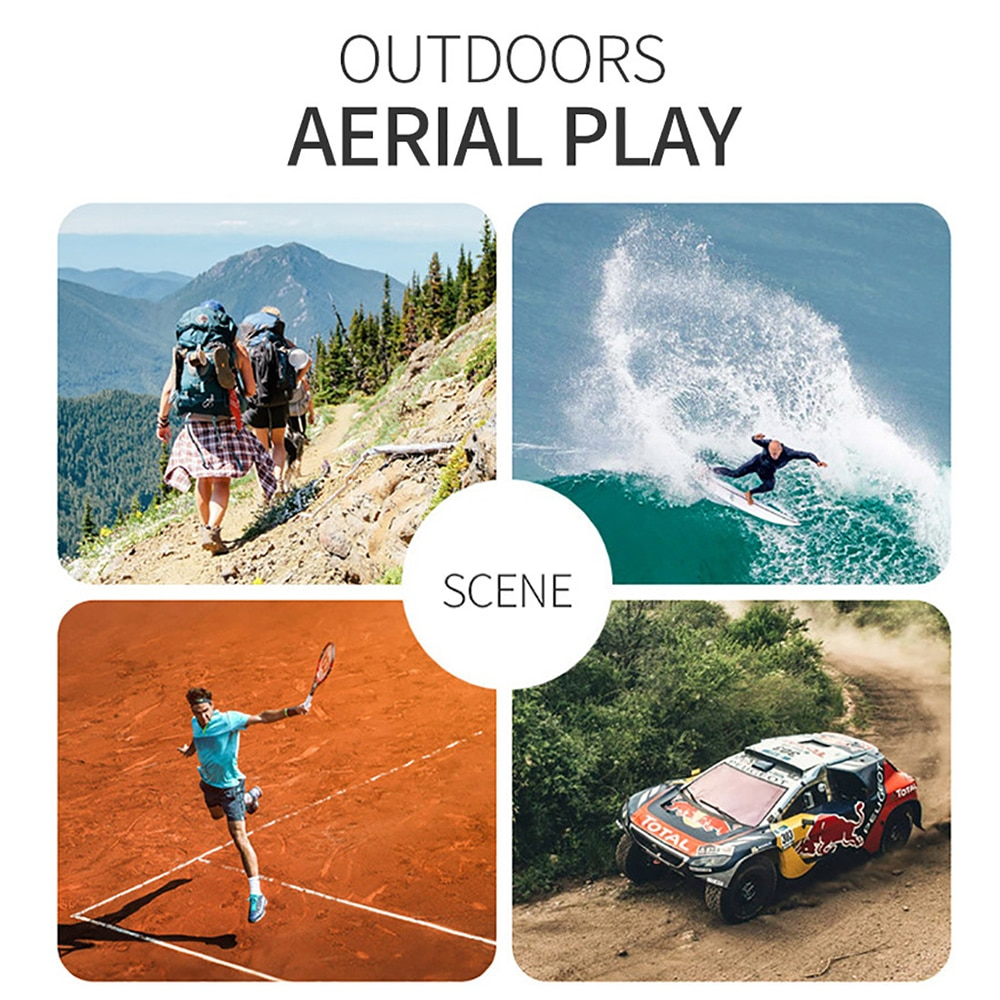 RC Drone UAV with Aerial Photography 4K HD Pixel Camera Remote Control 4-Axis Quadcopter Aircraft Long Life Flying Toys JIMITU enlarge