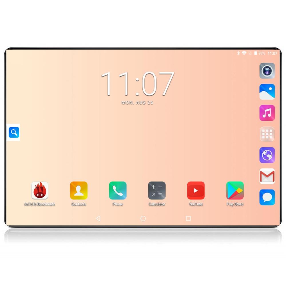 2020 Google tablet 10 inch tablet 6GB RAM 128GB ROM Octa Core 1280x800 IPS 8.0MP Android 8.0 4G FDD