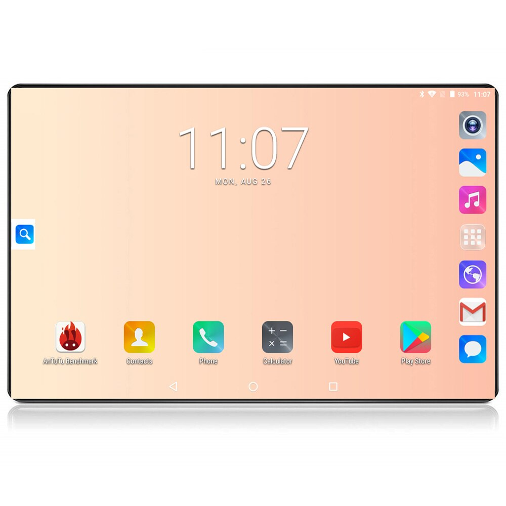 2020 google tablet 10 polegada tablet 6 gb ram 128 gb rom octa núcleo 1280x800 ips 8.0mp android 8.0 4g fdd lte wifi gps tablet 10 10.1