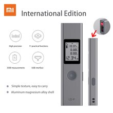 Telemetro portatile Xiaomi Duka 40m, telemetro portatile con ricarica USB, telemetro portatile ad alta precisione
