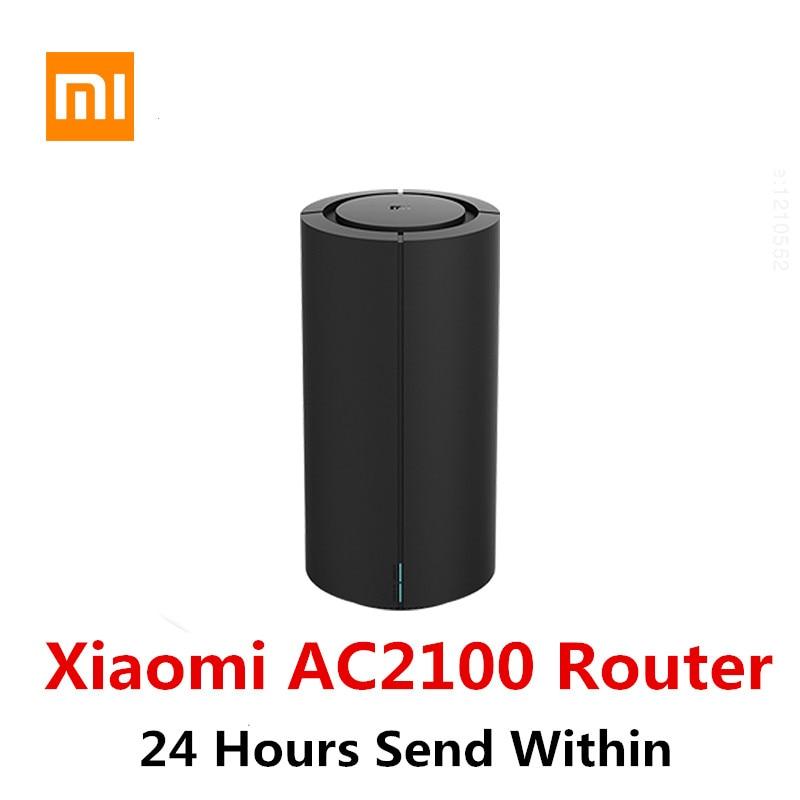 Xiaomi-راوتر AC2100 wi-fi ، 2033 ميجابت في الثانية ، 4 هوائيات ، نطاق مزدوج 2.4 جيجاهرتز/5 جيجاهرتز ، منفذ جيجابت كامل ، مضخم إشارة