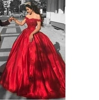 off the shoulder red prom dresses long 2019 cheap bead lace formal evening gowns quinceanera sweet 16 dress black girls dresses