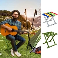 stainless steel fishing chair folding stool portable new style outdoor camping super strong folding stool fishing heavy portable