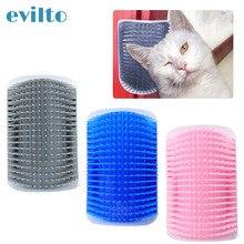 Peigne brosse de toilettage pour chats   Grand arc, peigne de toilettage, coin de chat, brosse à gratter, peigne de Massage, peigne de Massage, jouet avec chat