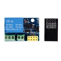 Quente esp8266 ESP-01S 5v módulo de relé wi-fi coisas casa inteligente interruptor controle remoto para arduino telefone app esp01s sem fio wi-fi modu