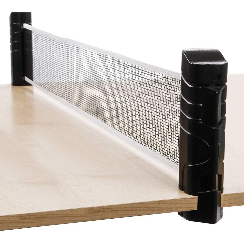 professional metal table tennis table net post ping pong table post net table tennis equipment body building fitness strength Table Tennis Net Portable Anywhere Retractable Ping Pong Post Net Rack For Any Table 1 Set Of Table Tennis Rackets Ping Pong