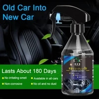 260ml 500ml car interior rubber and plastic retreading agent auto coating spray scratch repair cleaning agent