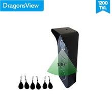 Dragonsview Rfid Video Deurbel Met Camera IP65 Waterdichte 4 Draden Voor Video Deurtelefoon Intercom Systeem