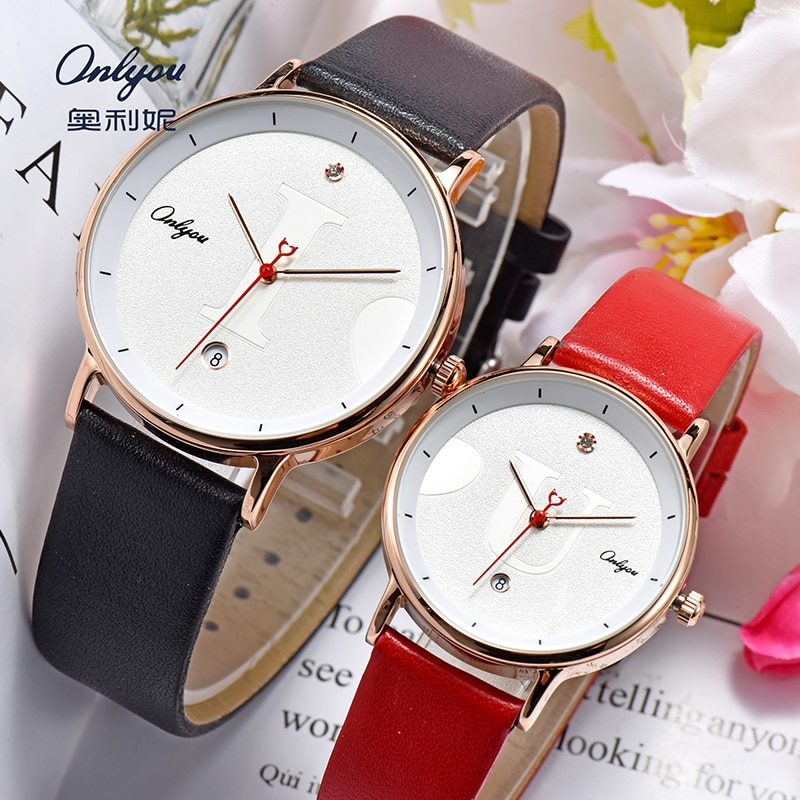 onlyou couple watches  Watch automatic male  watches for women  Watch men  female watch luxury  Clock Man watches LOVE YOU Gifts