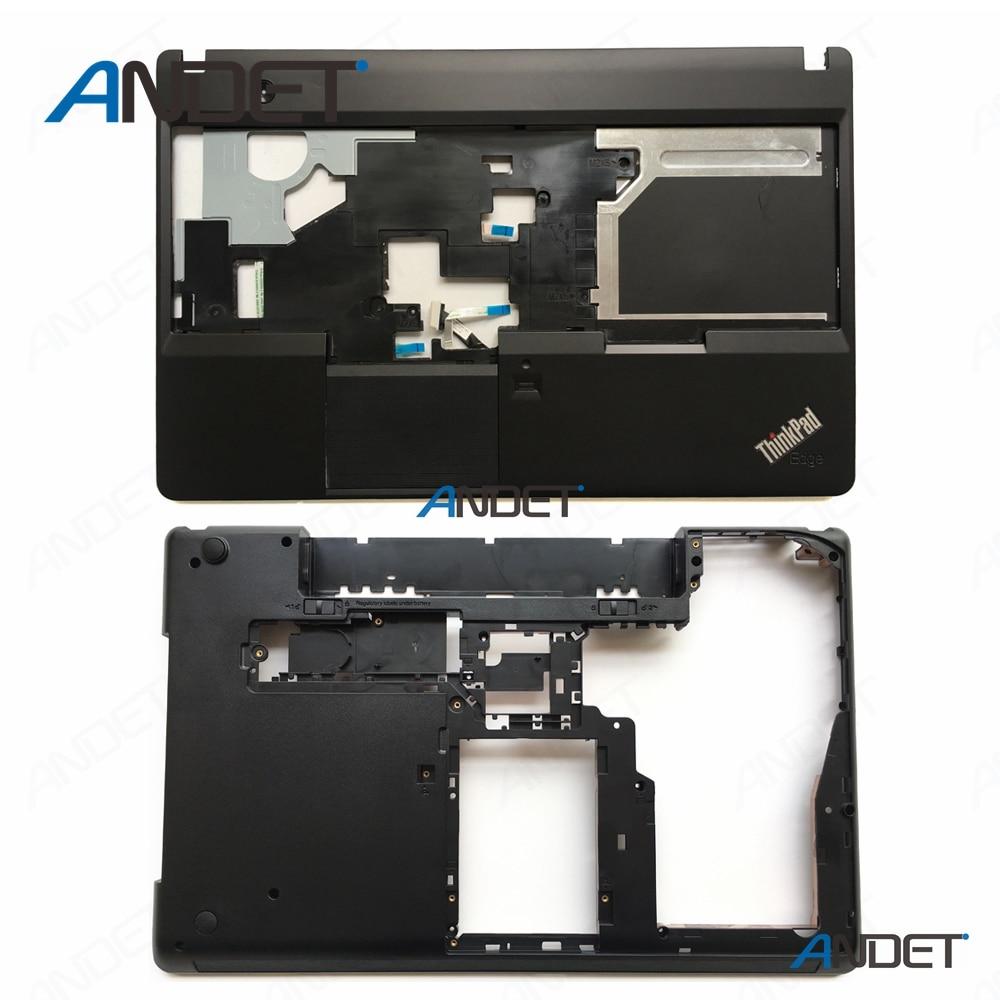 Отремонтированный для Lenovo ThinkPad E530 E535 E530C E545 Подставка для рук верхняя крышка C + нижняя база нижний корпус тачпад FPR